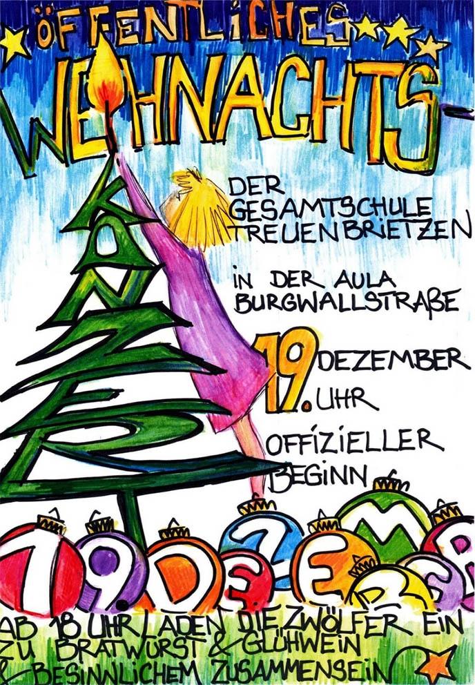Einladung öffentliches Weihnachtskonzert