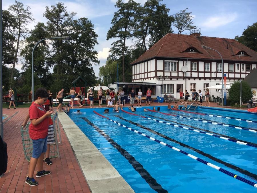Schwimmwettkampf