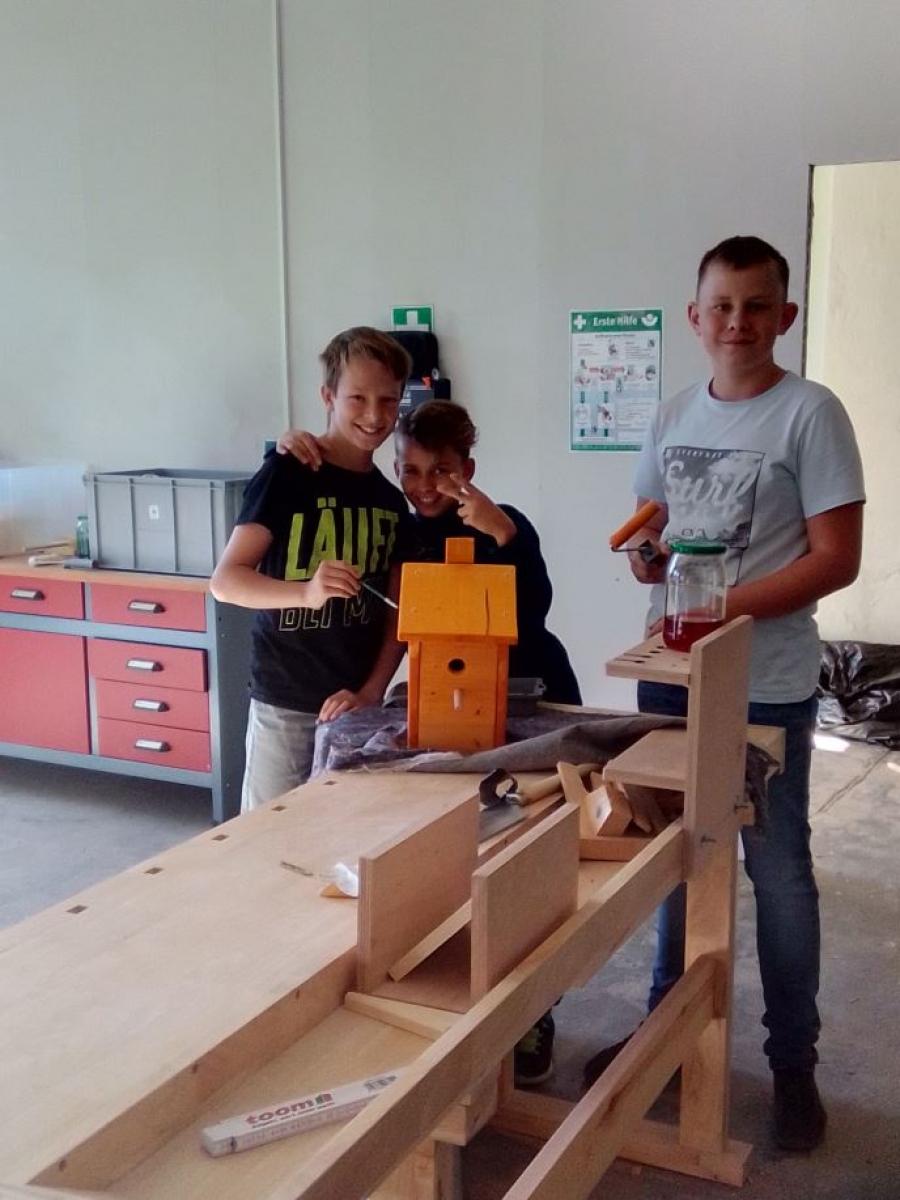 Aktive Naturschutzarbeit an der Gesamtschule Treuenbrietzen