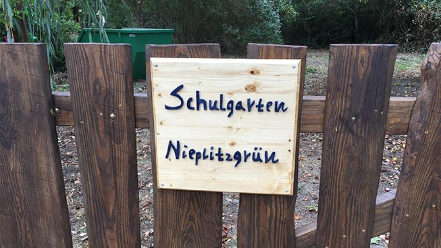 Jetzt wieder neu –  Schulgarten an der Gesamtschule Treuenbrietzen